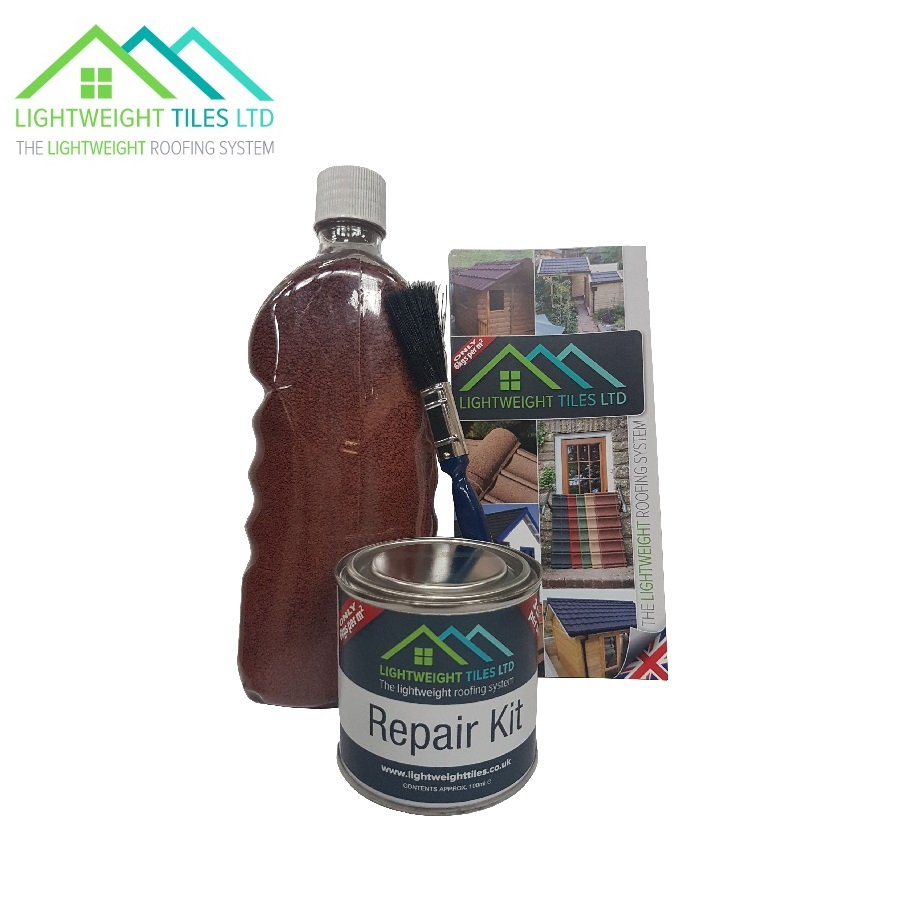 Lightweight Roof Tile Repair Kit Traditional Red