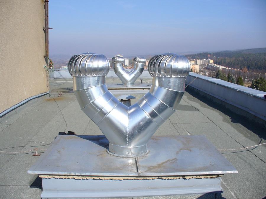 Turbine Air Vent : Lomanco vent turbine set tib with splitter roofing