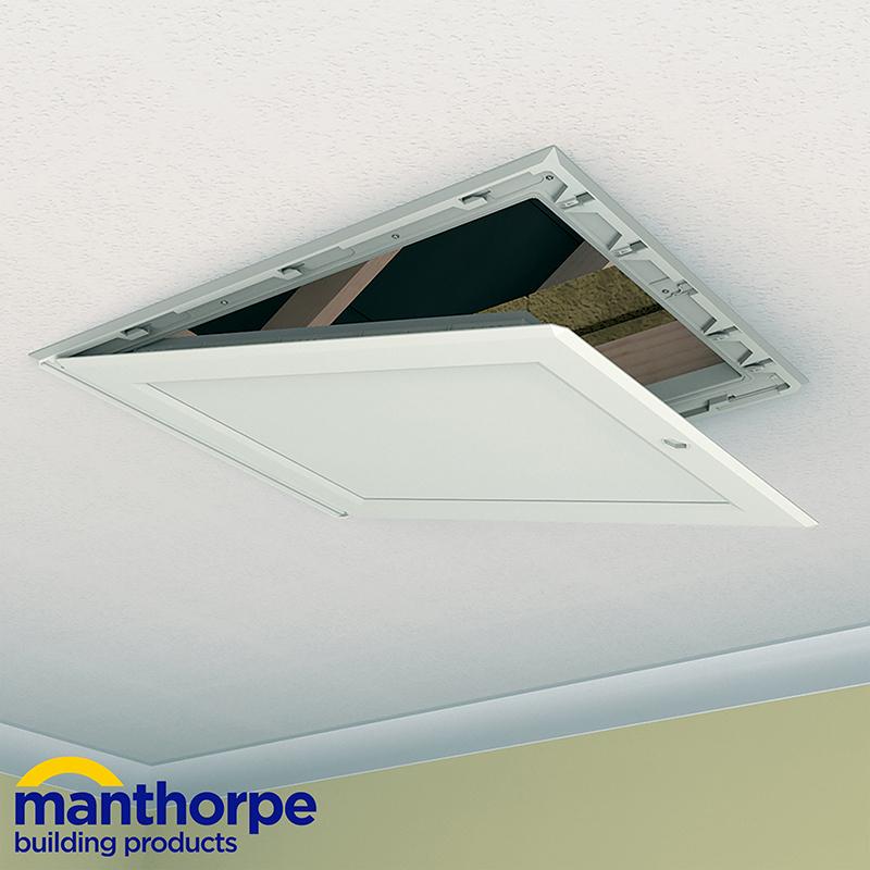 Manthorpe Gl250 035 Pu Insulated Drop Down Loft Door