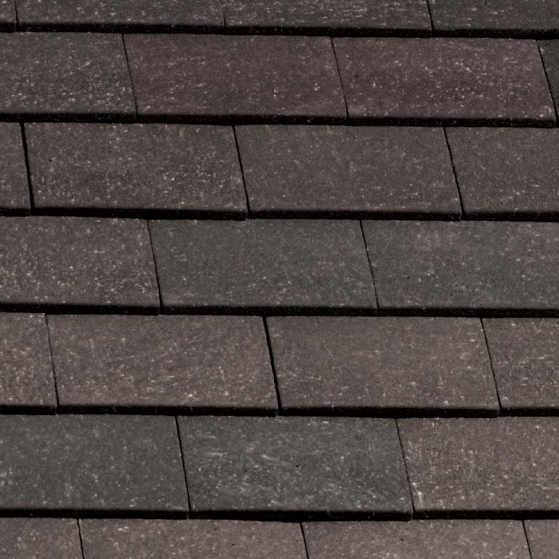 Marley Clay Plain Acme Single Camber Eaves Tile Grey