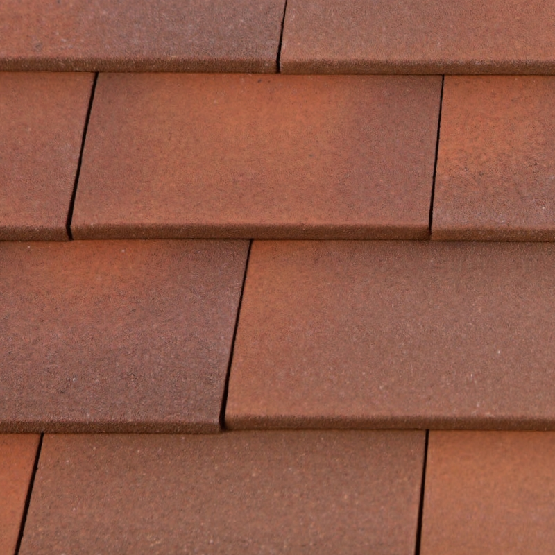 Marley Clay Plain Acme Single Camber Roof Tile - Heather Blend ...
