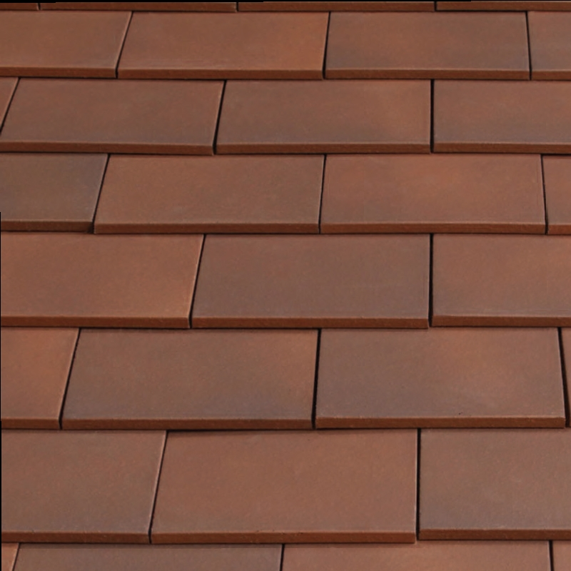 Marley clay plain acme single camber roof tile mixed for Clay tile roofs