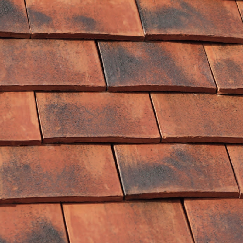 Marley clay plain ashdowne roof tile new ashurst for Clay tile roofs