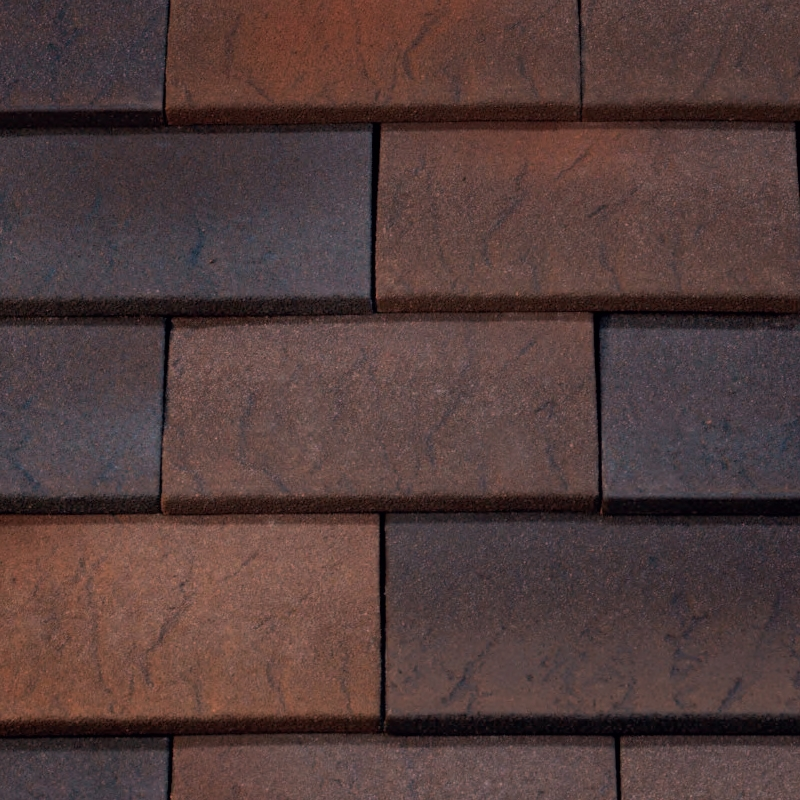 Marley clay plain hawkins roof tile fired sienna Fired tiles