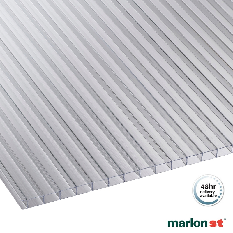 Marlon 4mm Horticultural Insulated Polycarbonate Sheet