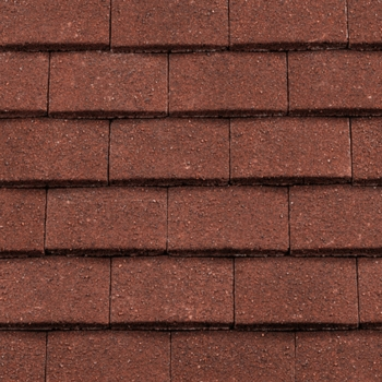 Wonderful Redland Concrete Plain Roofing Tile Antique Red Situ ...