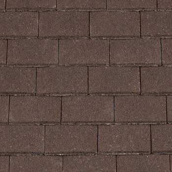 Redland Concrete Plain Roofing Tile Brown Situ ...