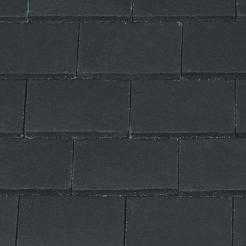 Redland Concrete Plain Roof Tile Smooth Charcoal Grey