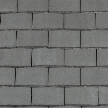 Redland Concrete Plain Roof Tile Smooth Slate Grey