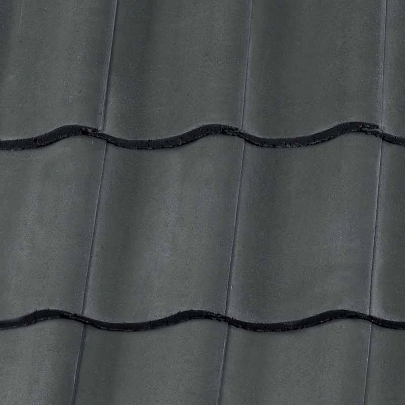 Redland Fenland Pantile Roofing Tile Slate Grey Situ ...
