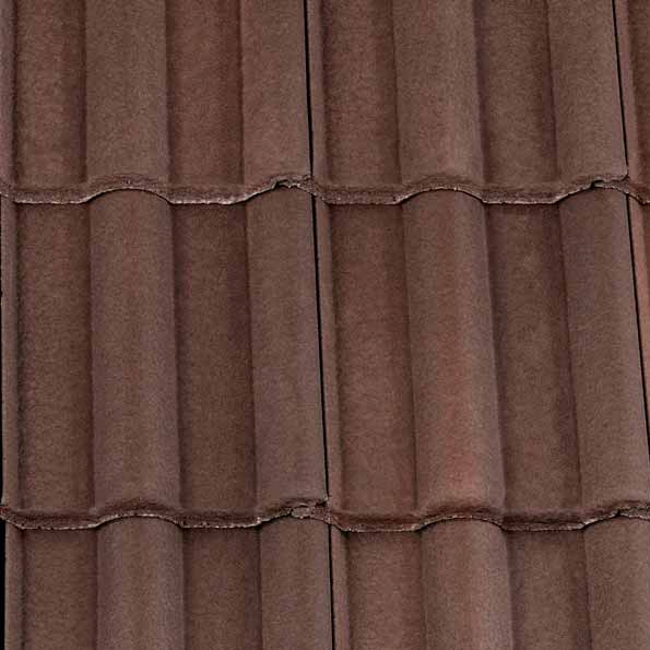 Redland Landmark Double Roman Concrete Roof Tile Brown