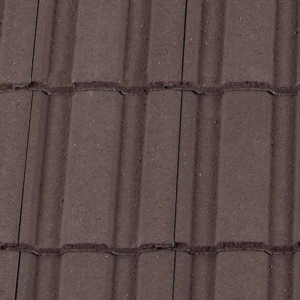 Redland Renown Concrete Profiled Roof Tile Brown Pallet