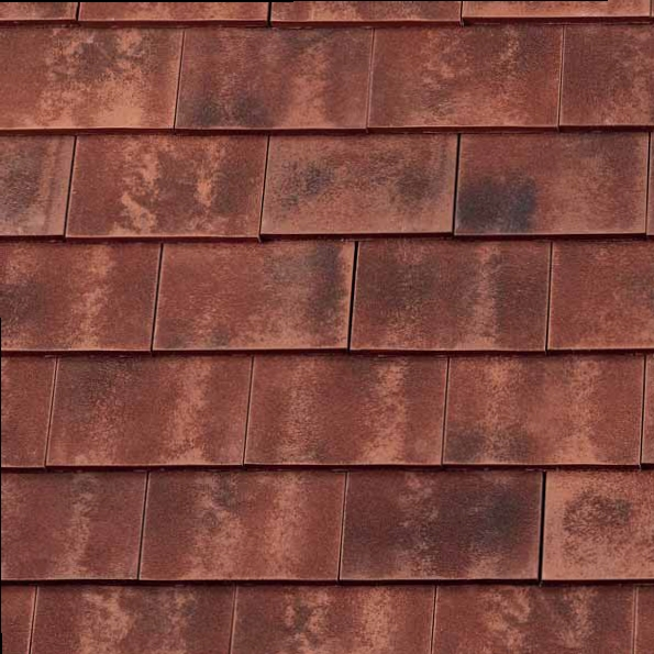Redland Rosemary Clay Classic Roof Tile Sanded Burnt