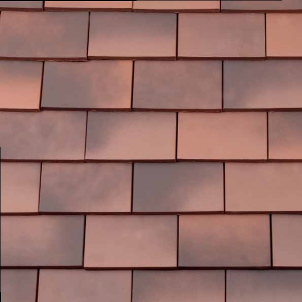 Redland Rosemary Clay Classic Roof Tile Smooth Light