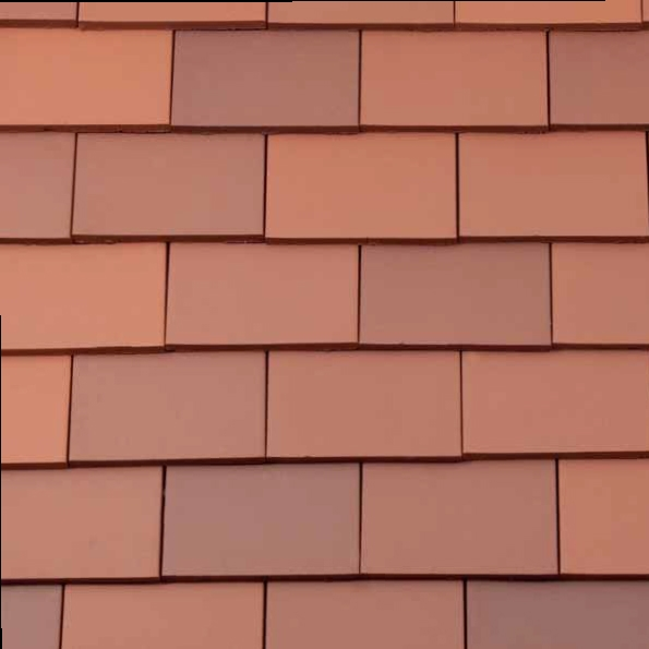 Redland Rosemary Clay Classic Roof Tile Smooth Red