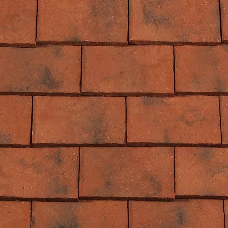 Redland rosemary clay craftsman roof tile sanded hawkhurst for Craftsman roofing