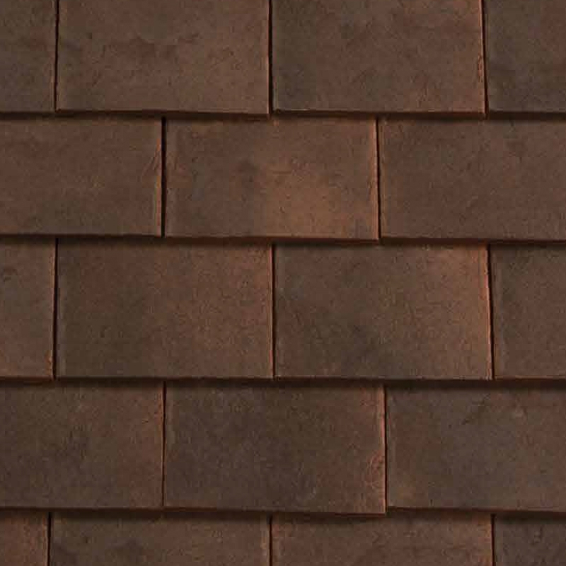 Redland rosemary clay craftsman roof tile sanded for Clay tile roof