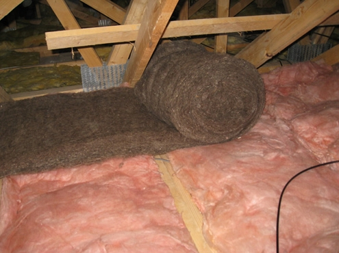 Sheepwool insulation comfort roll 3m x 380mm x 150mm 3 for Sheeps wool insulation prices