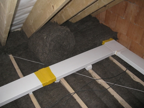 Sheepwool insulation optimal roll 9m x 380mm x 50mm 10 for Sheeps wool insulation cost comparison