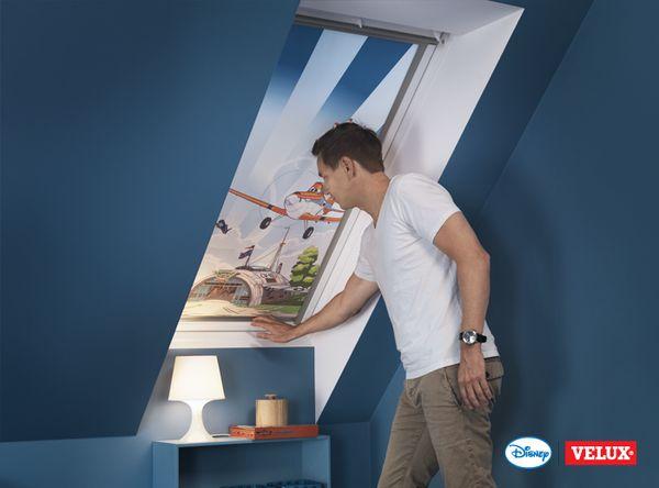 disney velux manual blackout blind dkl pk04 4620. Black Bedroom Furniture Sets. Home Design Ideas