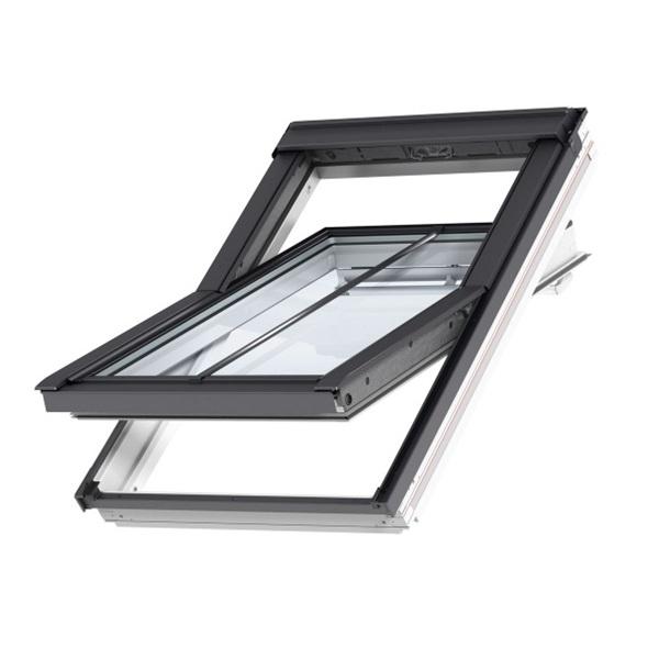 velux ggl ck04 287021u white conservation window integra 55cm x 98cm roofing superstore. Black Bedroom Furniture Sets. Home Design Ideas