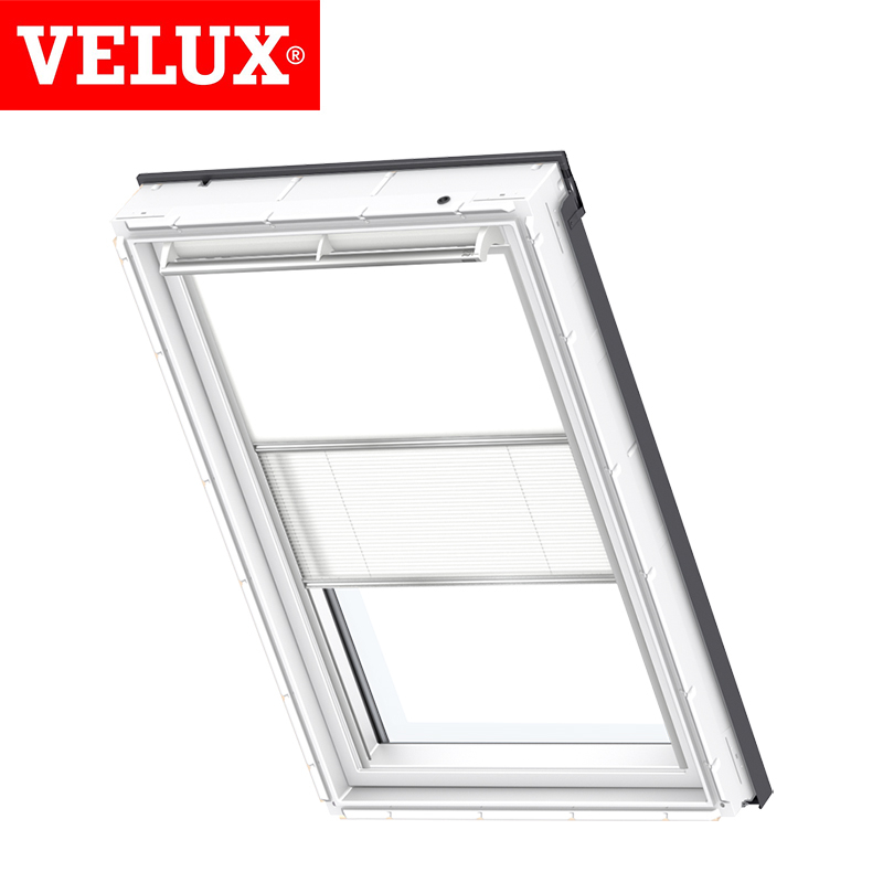 Velux Manual Duo Blackout Blind Dfd Sk06 1025 White And