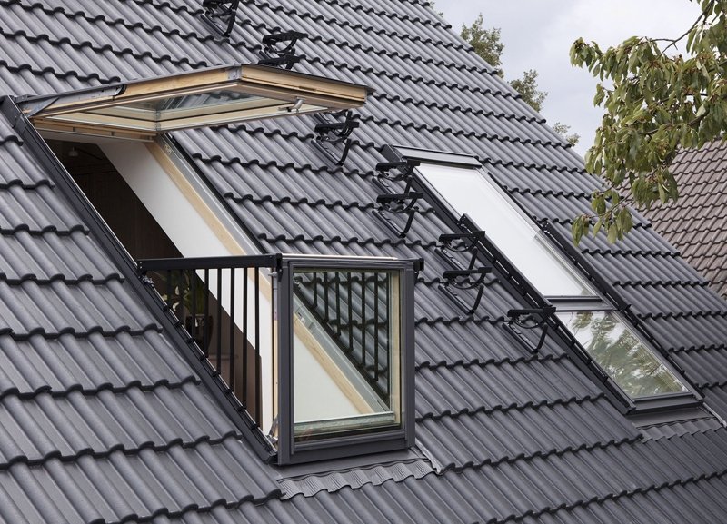 Velux Gdl Sk19 Sd0w001 Cabrio Balcony System For Tiles
