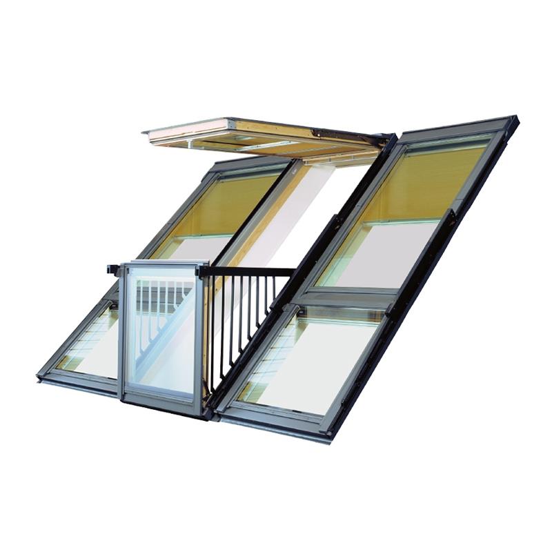velux gdl pk19 sk0w321 cabrio balcony system for tiles. Black Bedroom Furniture Sets. Home Design Ideas