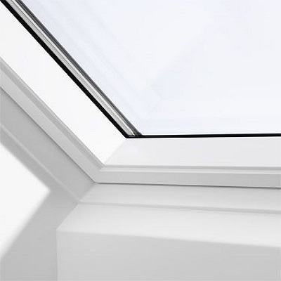 velux gpu sk08 0060 white top hung window advanced 114cm x 140cm roofing superstore. Black Bedroom Furniture Sets. Home Design Ideas