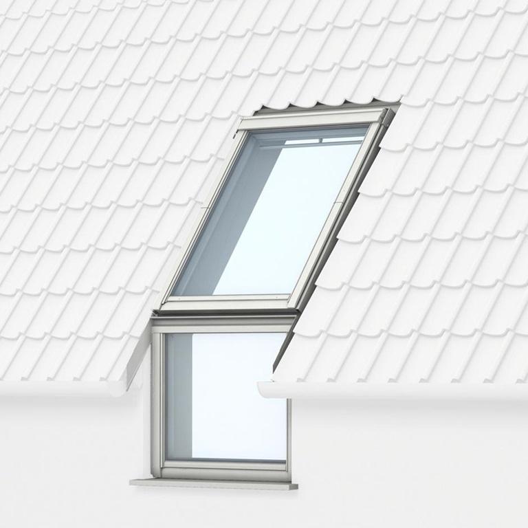 velux giu mk34 0073 laminated sloped fixed element 78cm x 92cm roofing superstore. Black Bedroom Furniture Sets. Home Design Ideas
