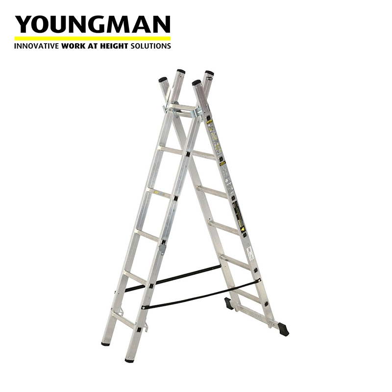 Youngman Light Trade 3 Way Combination Ladder Bs En131