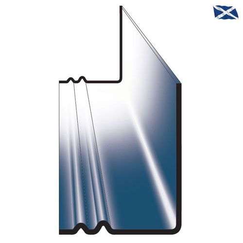 Scottish Continuous GRP Dry Soaker for Roofing Slates - Pack of 10