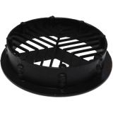 Round / Circular Soffit Vents Black - Airflow 2500mm2