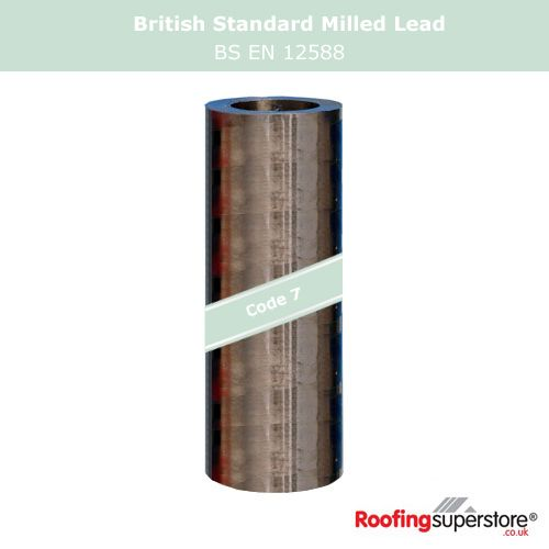 Lead Code 7 - 800mm x 6m Roofing Lead Flashing Roll
