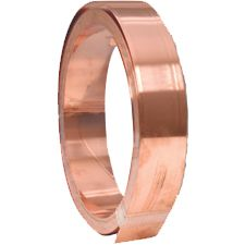 Copper Fixing Strip for Lead (50mm x 20m Roll) - 0.6mm Thickness
