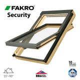FTP - V P2/02 Secure Fakro Roof Window Pine Centre Pivot - 55cm x 98cm
