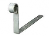 Galvanized Large Hip Iron (300mm x 150mm x 25mm x 3mm)