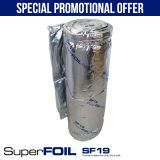SuperFOIL SF19 Multi-layer Foil Insulation 1.5m x 12.5m Roll (18.75m2)