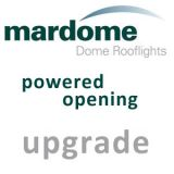 Mardome 900mm x 1800mm Powered Opening Upgrade