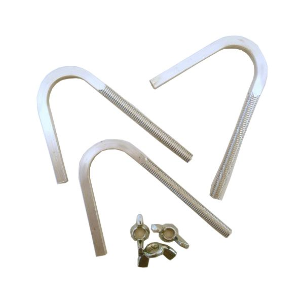 Chimney Capper Hook Bolt Set