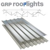 GRP Double Six Translucent Roof Sheets (Class 1)