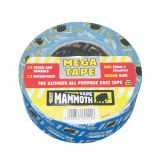 Mammoth Mega All Purpose Duct Tape 50mm x 50m - Yellow