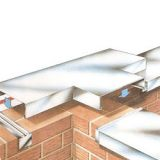 Aluminium Box Gutter - Made per Specification