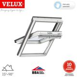 VELUX GGU CK02 0050 White Centre Pivot Window Toughened - 55cm x 78cm