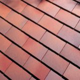 Dreadnought Premium Clay Roofing Tile & Half - Brown Antique Smooth