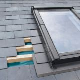 ELV/17 Fakro Single Flashing For Slate Up To 8mm Thick - 134cm x 140cm