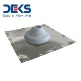 Seldek Pipe Flashing for Pitched Roofs Silicone Grey - 110mm to 200mm