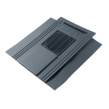 Glidevale GV11 Compact In-line Slate Vent - Blue/Black