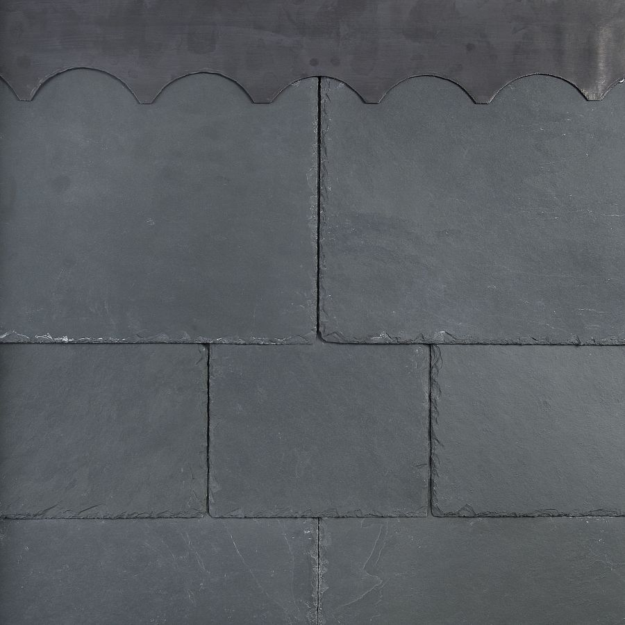 Brazilian Alpina 400mm x 300mm 1st Quality Natural Slate - Grey/Green