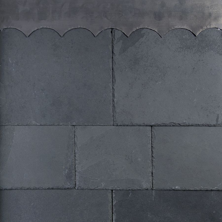 Brazilian Alpina 500mm x 250mm 1st Quality Natural Slate - Graphite